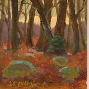 Red-Woods-8-x-10-oil-495