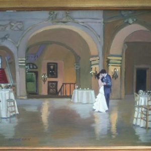 Solstice Wedding 24x30 $3,500.00