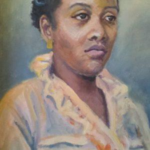 Derna 18x24 acrylic Portrait